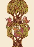 fairytale vector illustration poster