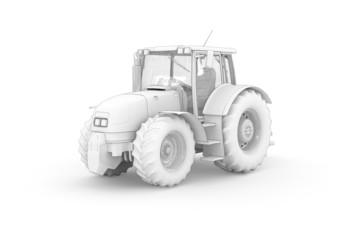 Traktor (white)