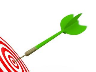 Green Arrow in motion