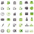 business Green & Black