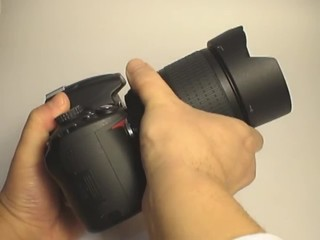 Installing new camera len