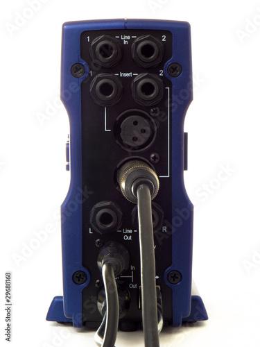 Sound device plugs