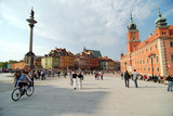 Fototapety Old Town in Warsaw, Poland