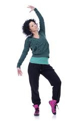 woman modern sport ballet dancer