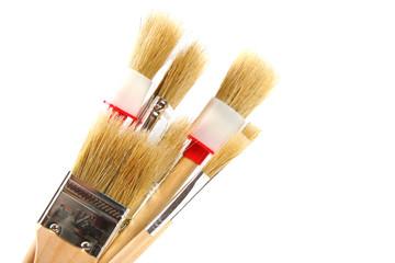 various paintbrushes