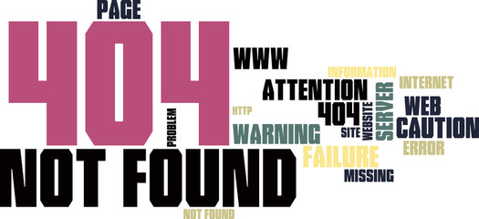 Site not found wordcloud