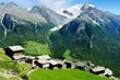 village de montagne suisse