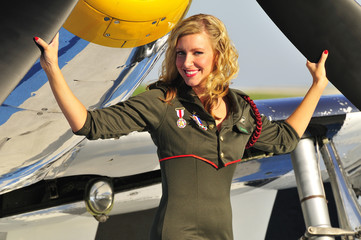 female aviator