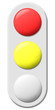 Traffic light Red Yellow W