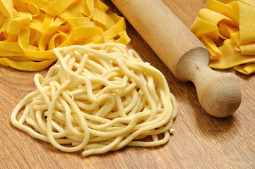 Spaghetti alla chitarra, pasta fresca fatta a mano