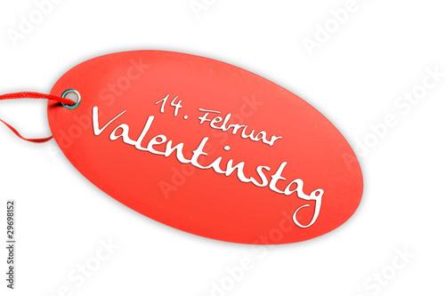 Etikett Valentinstag