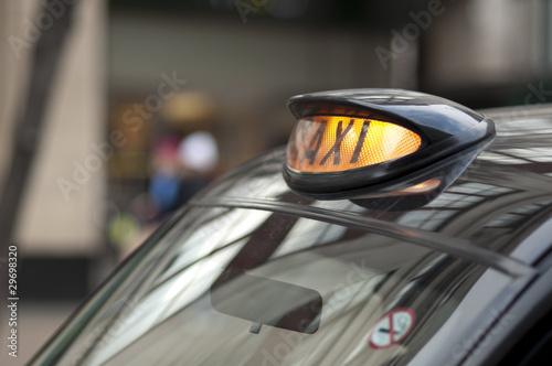 London black cab sign. - 29698320