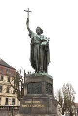 Statue of Saint Bonifatius, Fulda, Germany