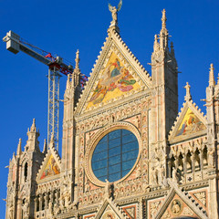 Siena's cathedral (Duomo) (Italy)