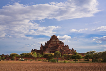 Dhammayangyi The biggest Temple in Bagan, Myanmar