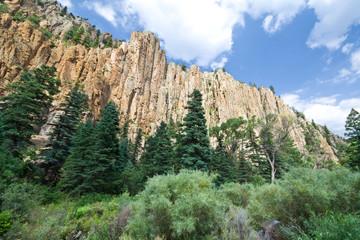 Cimarron Canyon Park Sangre de Cristo Mountains