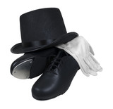 Tap Shoes Top Hat and White Gloves