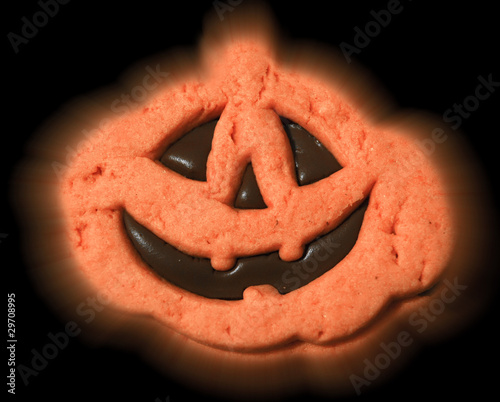 Chocolate Halloween cookie