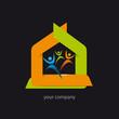 logo entreprise, association, communauté