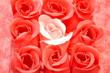 Red Rose Soaps
