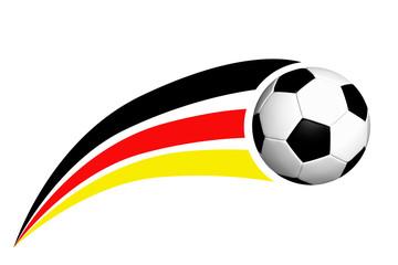 Fußball als Logo