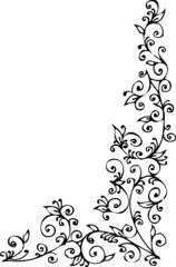 Refined Floral vignette CCCXLII