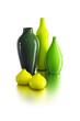 set of ceramic vases