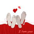 tangled feet