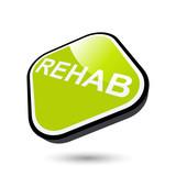 reha rehabilitation zeichen symbol gesundheit poster