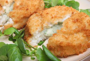 Cod Fishcakes with Watercress