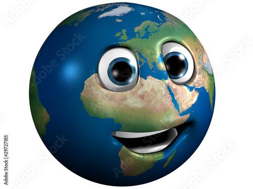 Plexiglas La terre