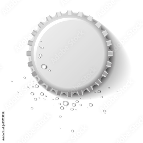 bottle cap wet