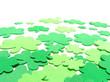 St Patricks Day shamrock background