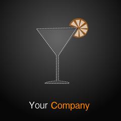Logo Bar grau orange