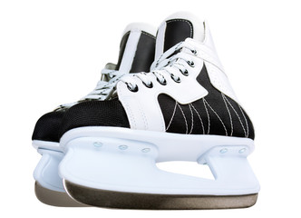 ice skate for children on white background