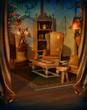 Salon retro z fotelami