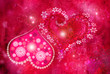 Quadro St. Valentine''s day texture
