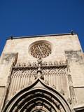 detalles del lateral de la catedral de murcia poster