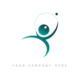 logo picto web port jeu marketing pub commerce design icône