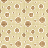 Fototapety Seamless circles and dots pattern canvas background
