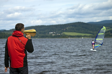 Teaching of windsurfing