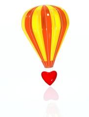 Love air-baloon
