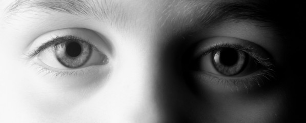 Closeup Of Child's Eyes
