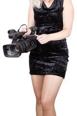 Sexy videographer