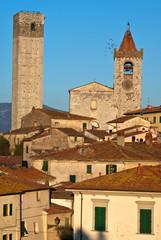 Toscana, panorama di Serravalle Pistoiese
