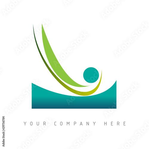 logo picto web mer vacances marketing commerce design icône