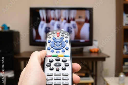 Tuinposter Ontspanning TV Remote Control
