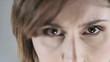 Close-up of woman eyes; HD 720, H 264