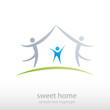 Logo Sweet Home # Vector