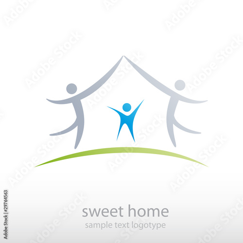 Logo Sweet Home # Vector